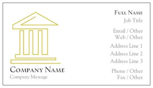 attorney business cards - Law, Public Safety & Politics