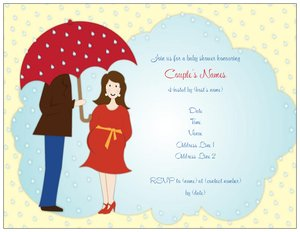 couples shower invitations - Baby Shower