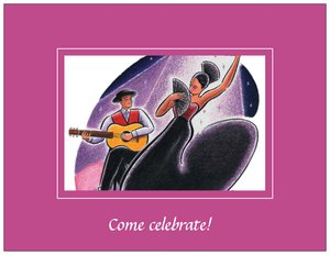 fiesta invitations - Art & Entertainment
