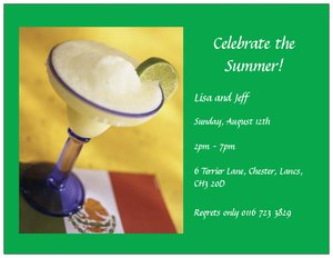 fiesta invitations - Dinners & Cocktails