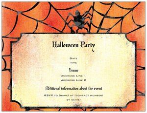 halloween party invitations - Halloween
