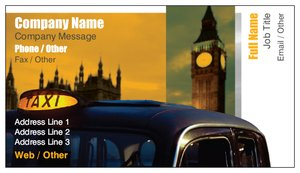 Business cards London - Automotive & Transportation