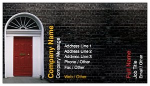 Business cards London - Home Inspection