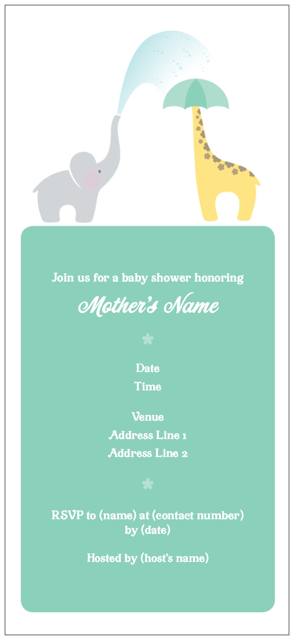 Vistaprint Baby Shower Invitations and get inspiration to create nice invitation ideas