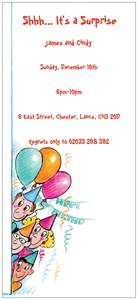 Surprise birthday invitations - Adult Birthday