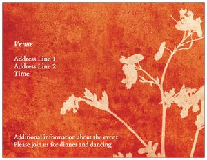 fall party invitations -