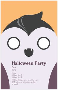 Costume party invitations