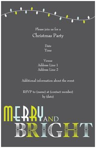 christmas wedding invitations - Holiday