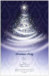 christmas wedding invitations - Christmas