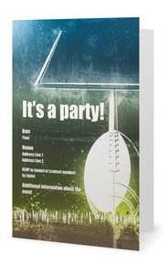 football birthday invitations - General Party