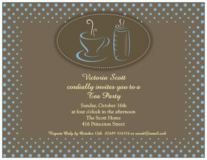 sip and see invitations - Baby Shower
