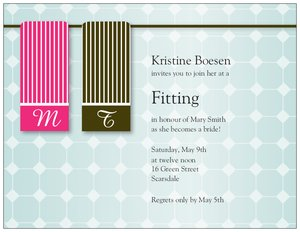 couples shower invitations - Bridal Shower