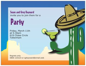 fiesta invitations -