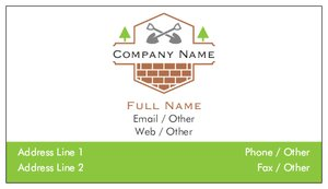 business card design ideas - Construction, Repair & Improvement